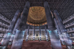 Istiqlal mosque in Jakarta Stock Photography