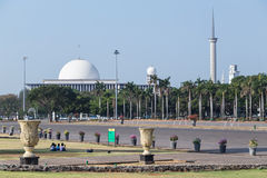 Istiqlal Mosque - national mosque of Indonesia in  Jakarta Stock Photo