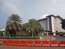 Istiqlalmoskee Djakarta, Indonesië royalty-vrije stock afbeelding