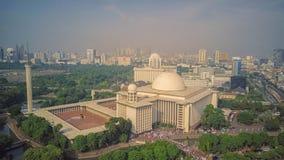 Istiqlalmoskee, Djakarta indonesië royalty-vrije stock afbeelding