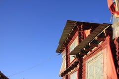 Istituto di buddismo tibetano in Cina Fotografie Stock Libere da Diritti