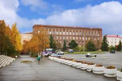 Istituto geologico in Apatity La Russia Fotografia Stock