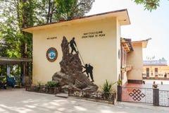 Istituto himalayano di alpinismo Fotografia Stock Libera da Diritti