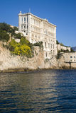 Istituto oceanografico in Monaco Fotografie Stock