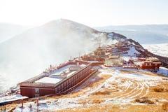 Istituto universitario buddhish di Seda Fotografie Stock