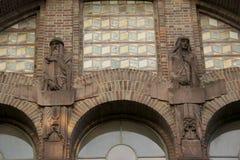 Istituto universitario che costruisce 3 Fotografie Stock