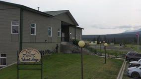Istituto universitario del Yukon video d archivio