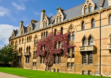 Istituto universitario della chiesa del Christ, Oxford Immagine Stock