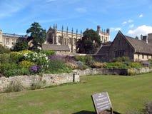 Istituto universitario della chiesa di Cristo a Oxford, fotografia stock