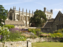 Istituto universitario della chiesa di Cristo a Oxford, fotografie stock