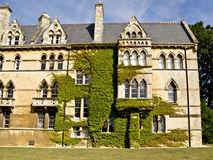 Istituto universitario della chiesa di Cristo a Oxford, immagini stock