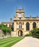 Istituto universitario della trinità, Oxford Fotografie Stock Libere da Diritti