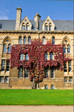 Istituto universitario di Christchurch, Oxford Fotografia Stock Libera da Diritti