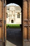 Istituto universitario di Wadham, Oxford Fotografia Stock Libera da Diritti