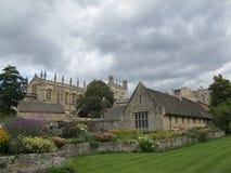 Istituto universitario Oxford della chiesa del Christ fotografie stock