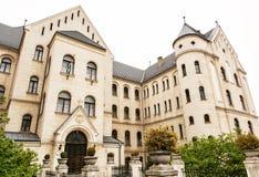 Istituto universitario teologico in Gyor, Ungheria Fotografie Stock Libere da Diritti