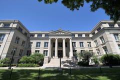 Istituto universitario & università in Iowa City, Iowa Immagini Stock Libere da Diritti