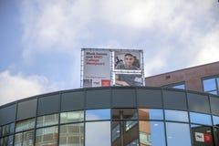 Istituto universitario Westpoort ROC At Amsterdam The Netherlands 2018 del MBO del tabellone per le affissioni fotografie stock