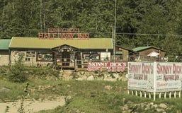 Istituzione del Ribald vicino a Fairbanks, Alaska Fotografia Stock