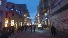 Istklal gata istanbul Royaltyfria Bilder