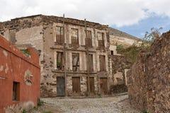 Istny De Catorce, Meksyk porzucał budynki Zdjęcia Royalty Free