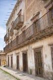 Istny De Catorce Meksyk stary srebny miasteczko Zdjęcie Stock