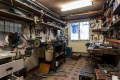 Istny domowy domu DIY warsztat Zdjęcia Stock