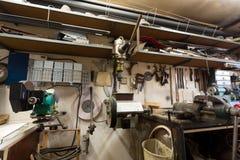 Istny domowy domu DIY warsztat Obrazy Stock