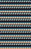 Istny dynamiczny błękita i brzoskwini kruszcowy horyzontalny wzór ilustracji