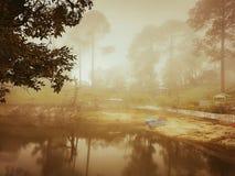 Istny odbicie nature& x27; s piękno fotografia stock