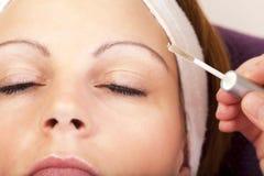 Istny piękna i kosmetyków traktowanie - serie Obraz Stock
