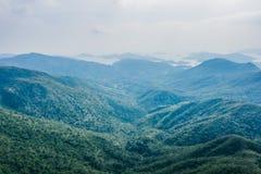 Isto é sobre montanhas em Hong Kong fotos de stock royalty free