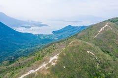 Isto é sobre montanhas em Hong Kong fotografia de stock royalty free