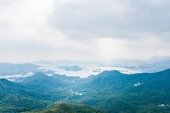 Isto é sobre montanhas em Hong Kong fotos de stock