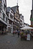 Istoric street in Bad Muenstereifel Stock Photos