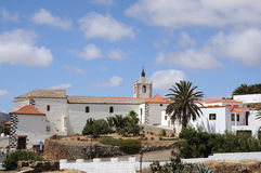 Istorical town Betancuria, Fuerteventura Stock Photo