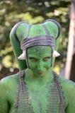 Istot zielone gwiezdne wojny Obraz Stock