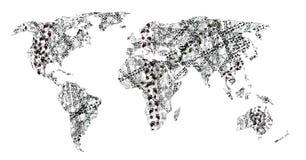 istota ludzka tropi świat royalty ilustracja