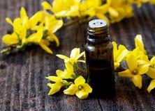Istotna Oil.Flower esencja Obrazy Royalty Free