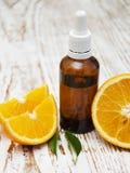 istotnego oleju pomarańcze Obrazy Royalty Free
