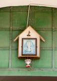 Istra 耶稣象入口的对新耶路撒冷修道院 图库摄影