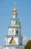 Istra. Iconic tower in the New Jerusalem Monastery Stock Photography