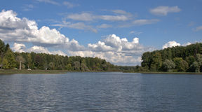 Istra Reservoir, Russia Royalty Free Stock Photography
