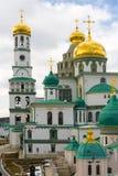 ISTRA, RUSLAND - Maart 23, 2019: Het Nieuwe Klooster van Jeruzalem, dat ook als Voskresensky wordt bekend royalty-vrije stock fotografie