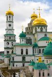 ISTRA, RUSSIA - March 23, 2019: The New Jerusalem Monastery, also known as the Voskresensky royalty free stock photography