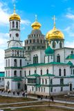 ISTRA, RUSSIA - March 23, 2019: The New Jerusalem Monastery, also known as the Voskresensky stock photo