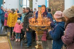 ISTRA, RUSSIA - March 23, 2019: The New Jerusalem Monastery stock photos