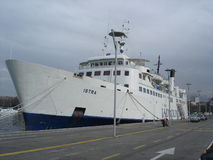 Istraveerboot Royalty-vrije Stock Afbeelding
