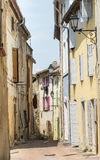 Istres (Provence). Istres (Bouches-du-Rhone, Provence-Alpes-Cote d'Azur, France), a typical old street Royalty Free Stock Image
