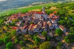 Istria - Beram imagenes de archivo